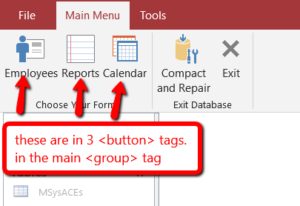 Access_Custom_Ribbon_buttons