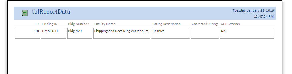 How To Make An Access Report Based On Form Inputs