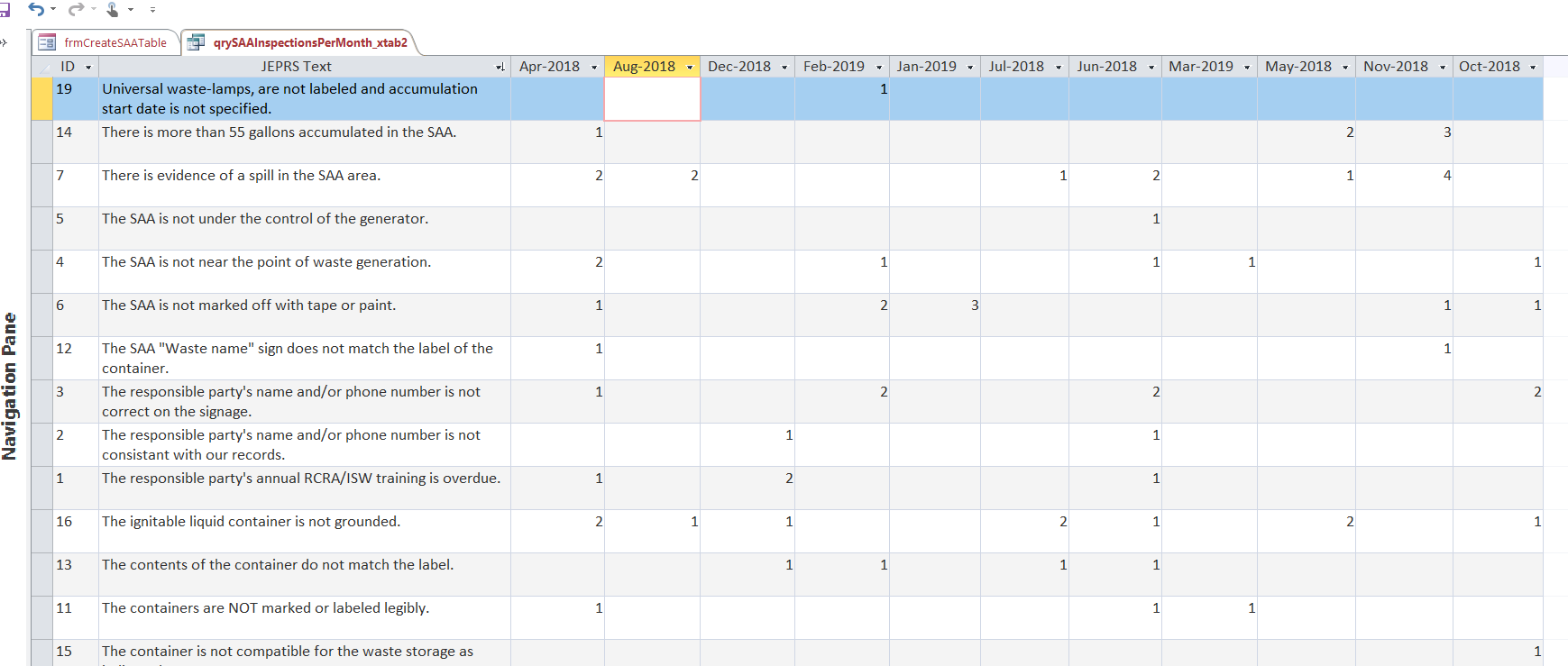 How To Create A MS Access Dynamic Report Based On A Dynamic