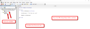 MS Access VBA Basics - Video 1