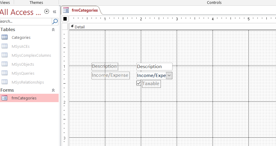 ms_access_form_filter_example_create_form