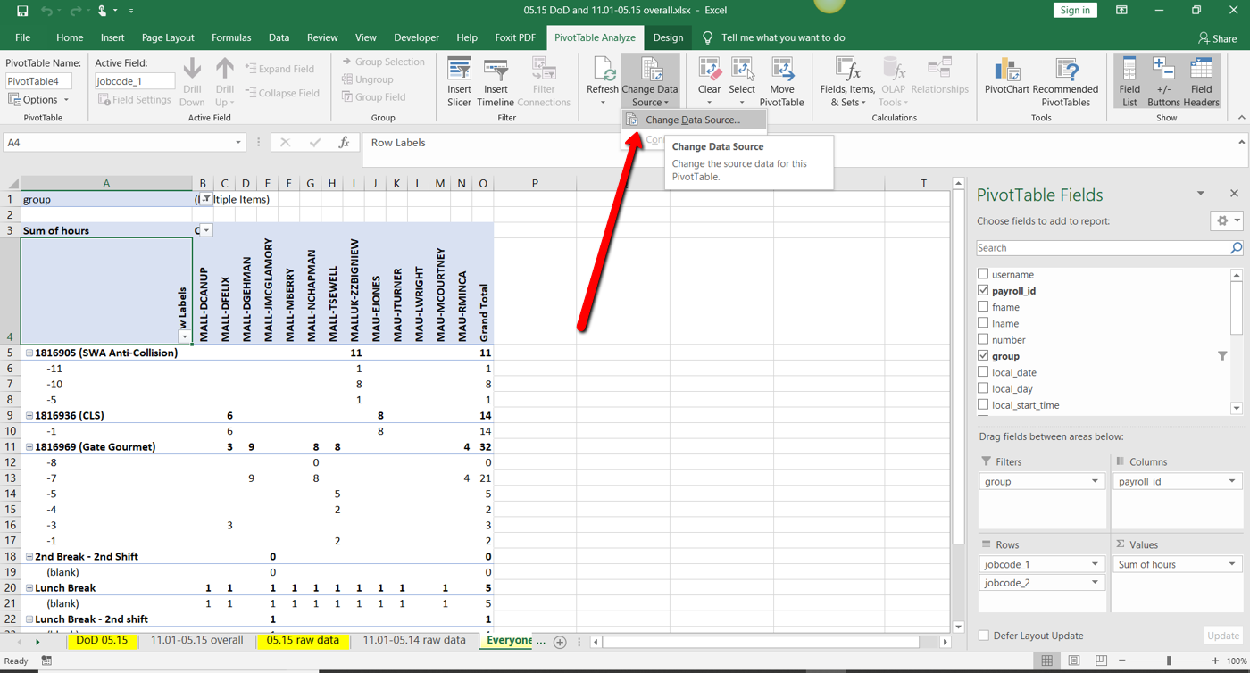 Converting A Excel Spreadsheet To Access Database