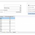 Field Inspection App In MS Access
